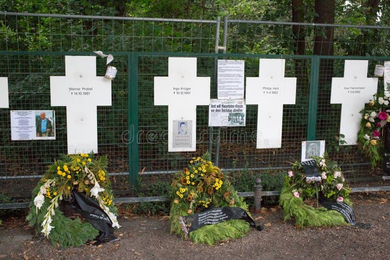 Berlin Cross Memorial stock afbeeldingen