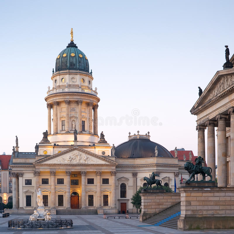 Berlin, Deutscher Dom stock images
