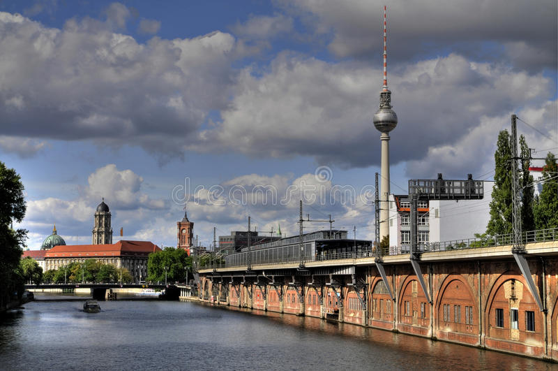 Berlin. Deutschland, an einem Sommertag stockbilder
