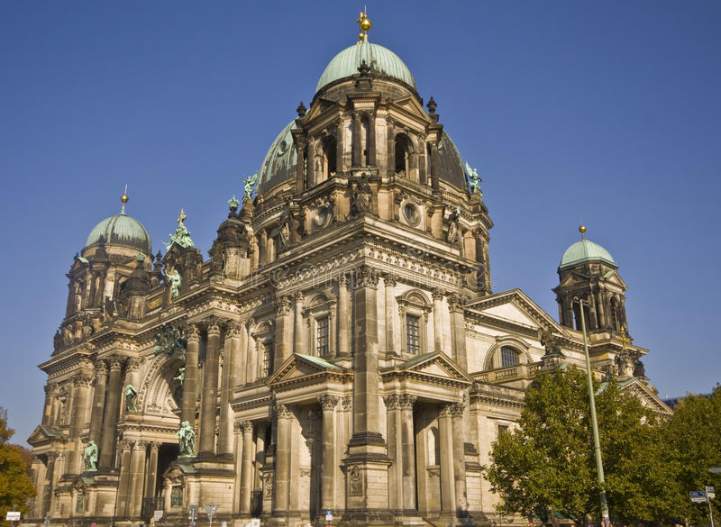 berlin dom royaltyfri fotografi