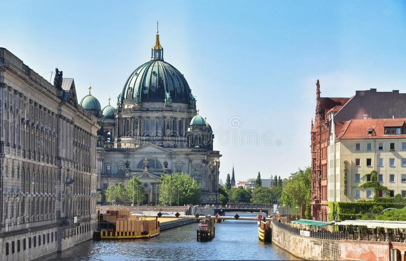 Berlin Dom Cathedral stock fotografie