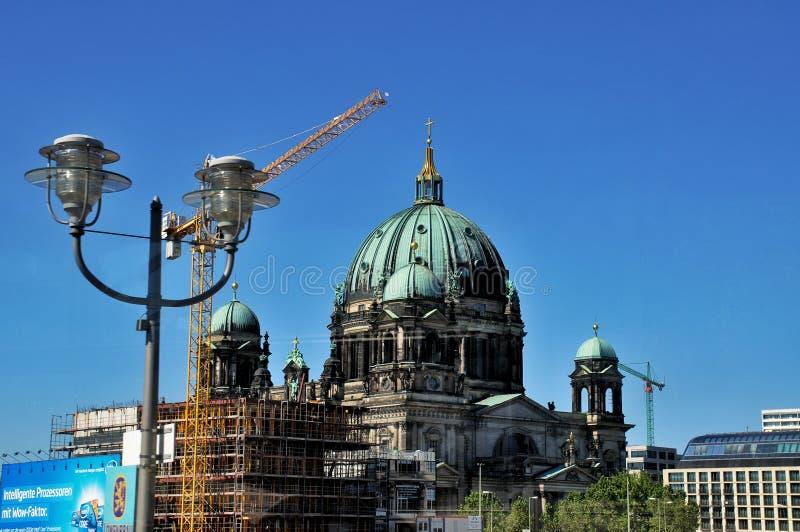 Berlin Dom Cathedral royalty-vrije stock fotografie