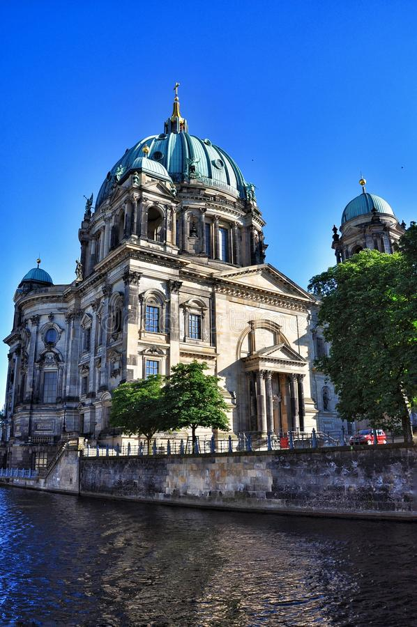Berlin Dom Cathedral royalty-vrije stock foto