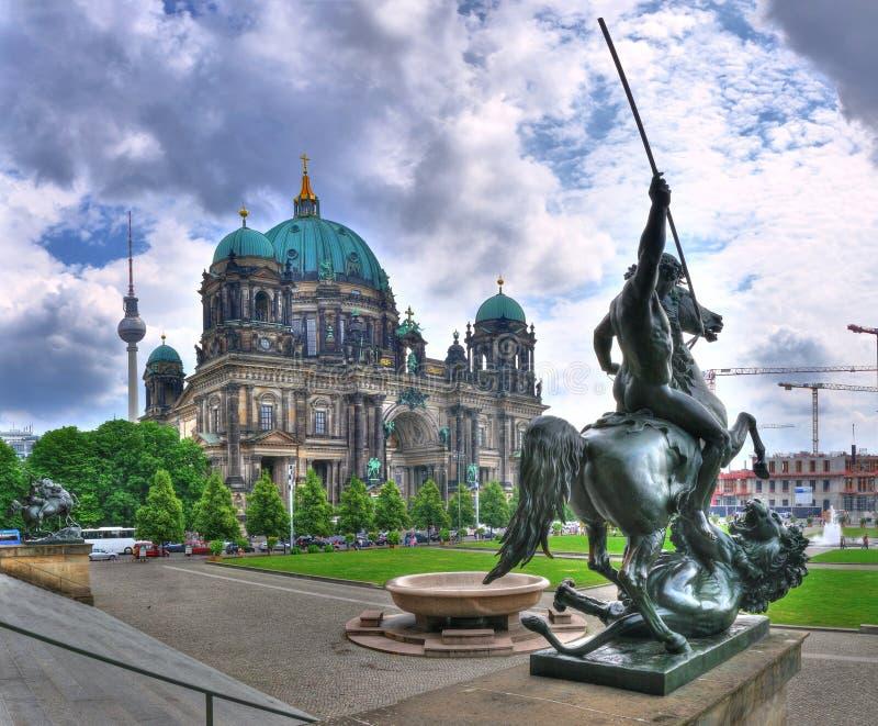 berlin domkyrka germany arkivfoton