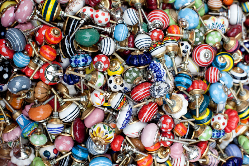Berlin drawers knobs royalty free stock photography