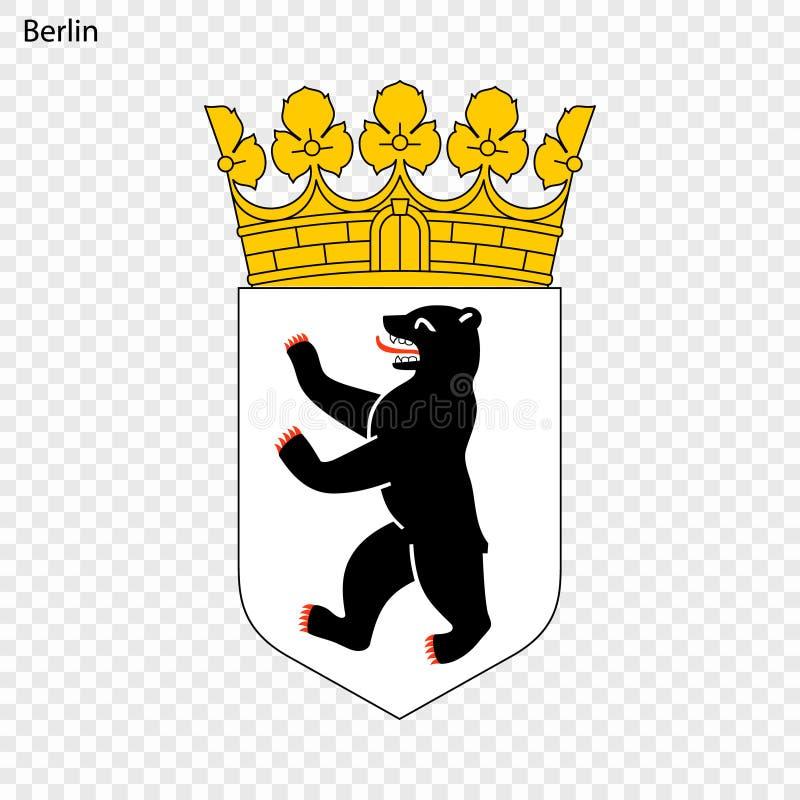 berlin emblemat ilustracji