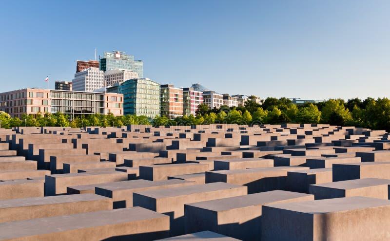berlin förintelseminnesmärke arkivfoto