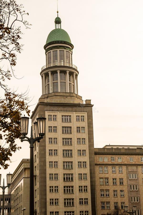 Berlin facade stock image
