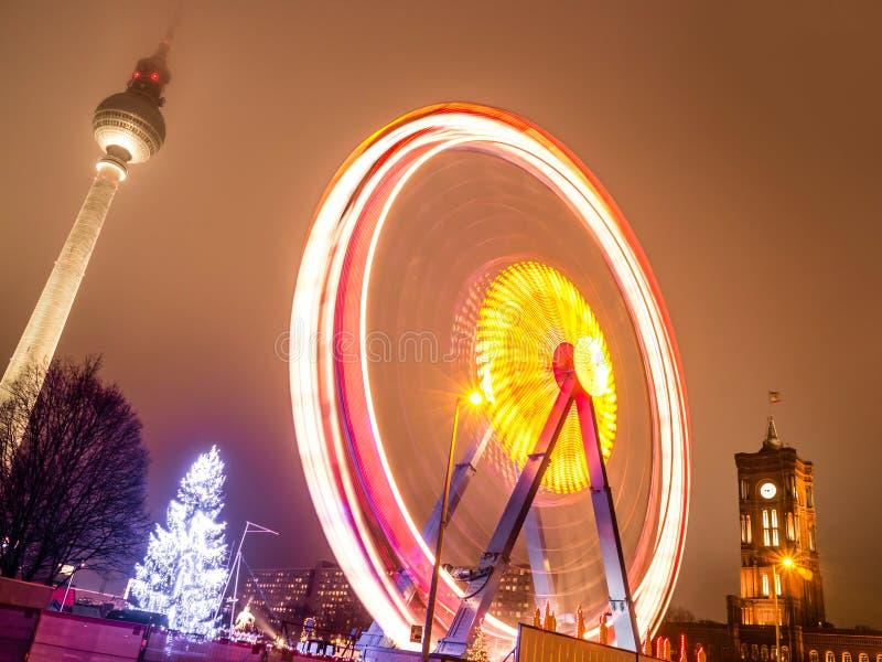 Download Berlin ferris wheel stock image. Image of history, city - 31312899