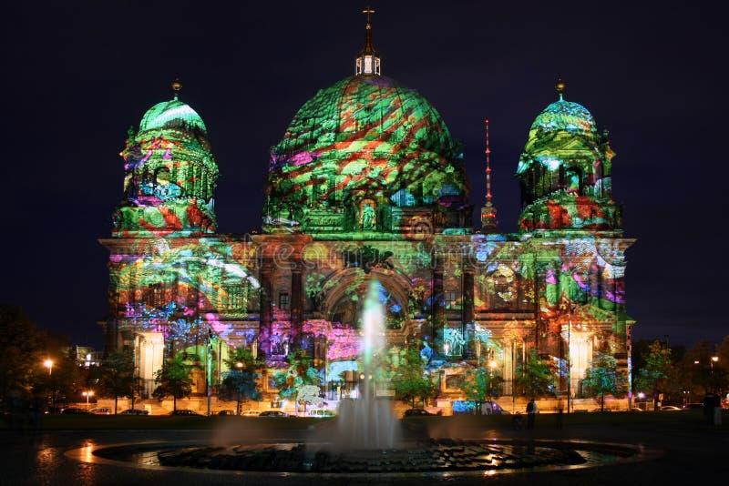 Berlin-Festival der Leuchten lizenzfreie stockfotografie