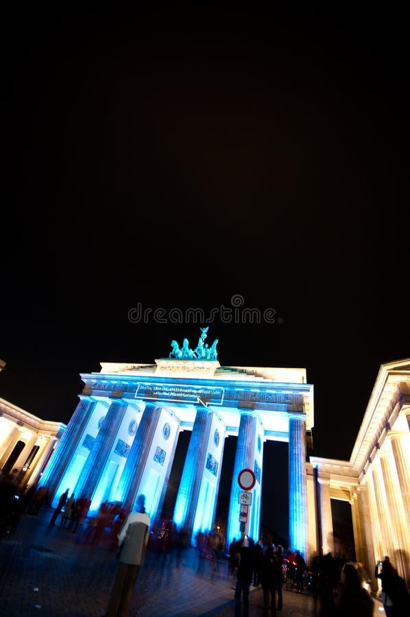 Berlin, festival des lumières photographie stock