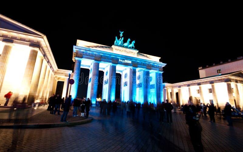 Berlin, festival des lumières image libre de droits