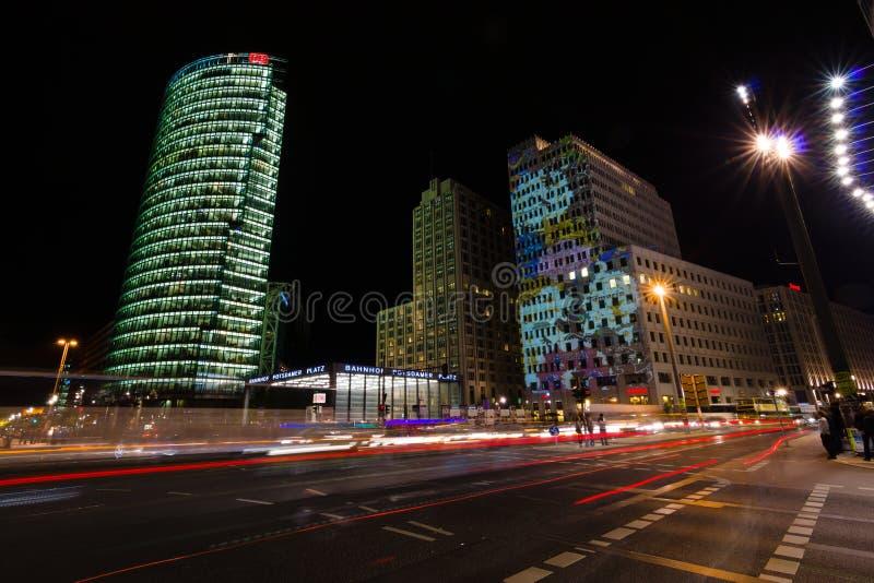 berlin Festival des lumières 2014 photos libres de droits