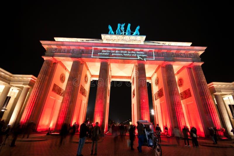 Berlin, Festival of Lights royalty free stock image