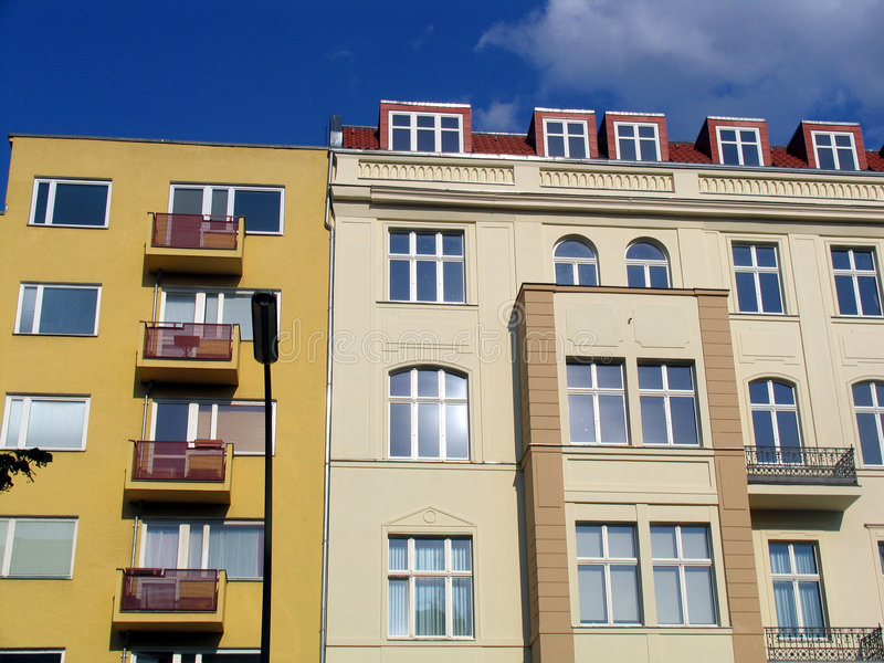Download Berlin flats stock image. Image of windows, balconcey, city - 17525