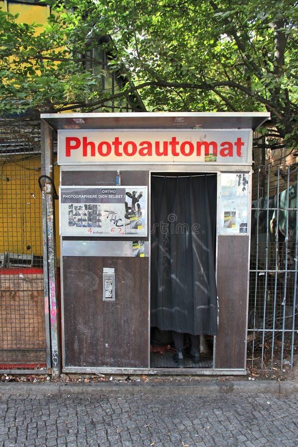 Berlin fotobås arkivfoton