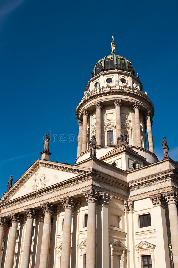 Berlin, French cathedral stock images