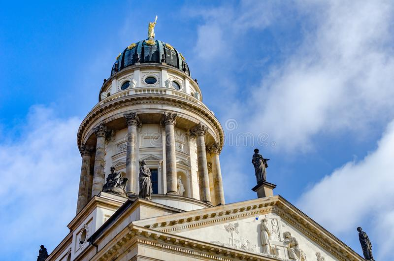 Berlin - French Cathedral. stock photo
