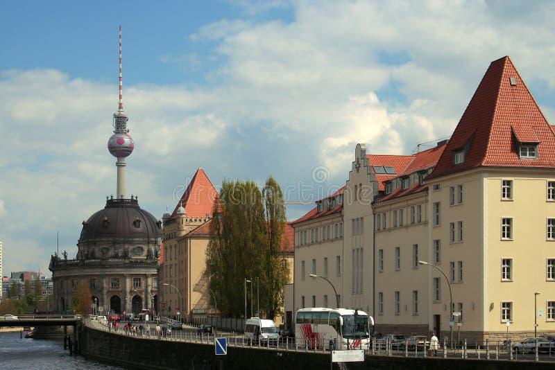 Berlin_Friedrichstrasse fotografía de archivo