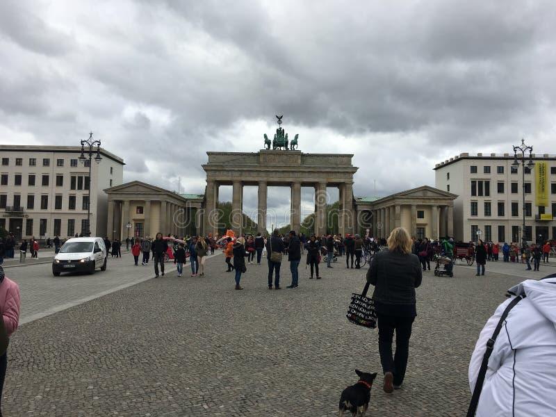 Berlin gatasikt arkivfoton