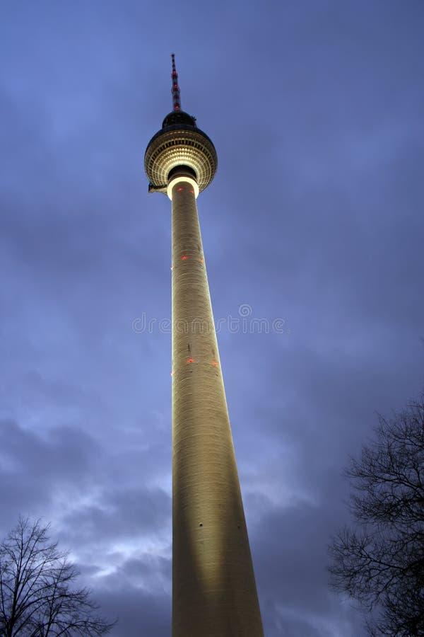 berlin German telewizji wieży zdjęcie royalty free