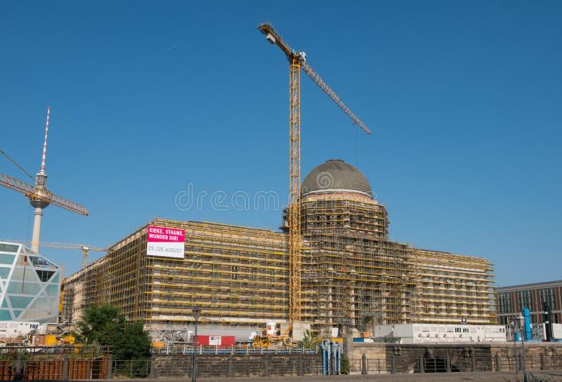 Berlin Palace German: Berliner Schloss or Stadtschloss a.k.a. royalty free stock images
