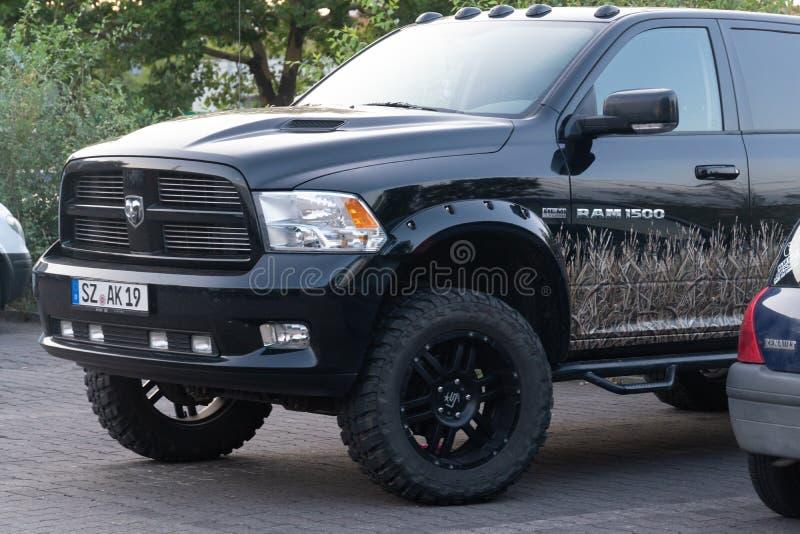 Ram pickup vehicle royalty free stock image
