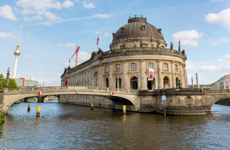 View of Bode Museum - Berlin - Germany stock photos