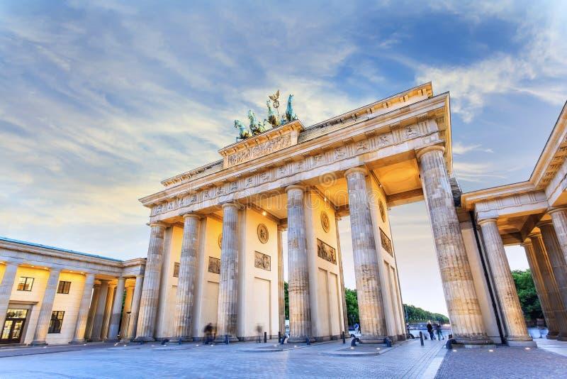 Brandenburg Gate - Berlin - Germany stock image