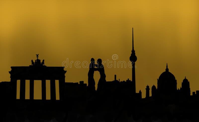 Berlin Germany Capital ilustração stock