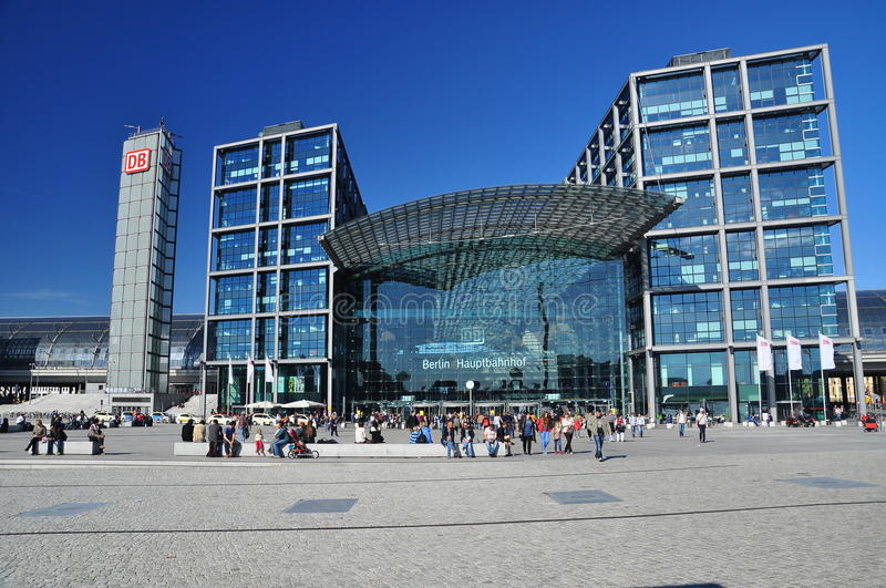 Download Berlin, Germany. Central Railway Station (hauptbahnhof) Editorial Image - Image: 26947220