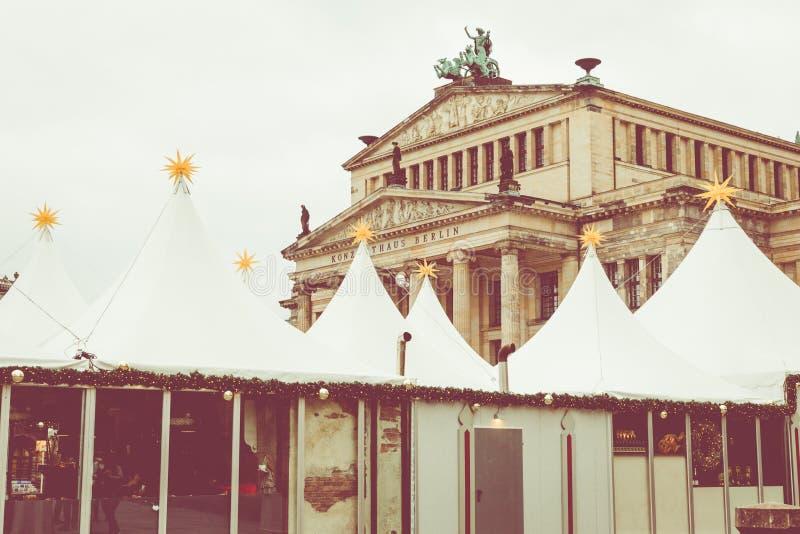 BERLIN, GERMANY - DECEMBER 06,2017: Christmas market, Deutscher royalty free stock images