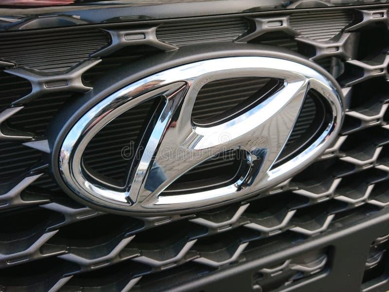 Hyundai car stock photo