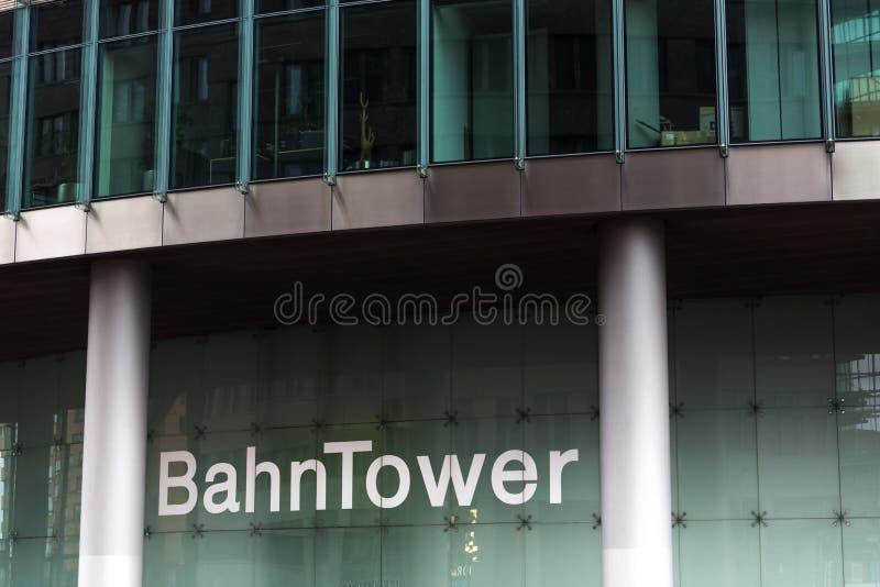 Berlin Berlin, Germany,/- 24 12 18: deutsche bahn kwatery główne basztowy Berlin Germany obrazy stock
