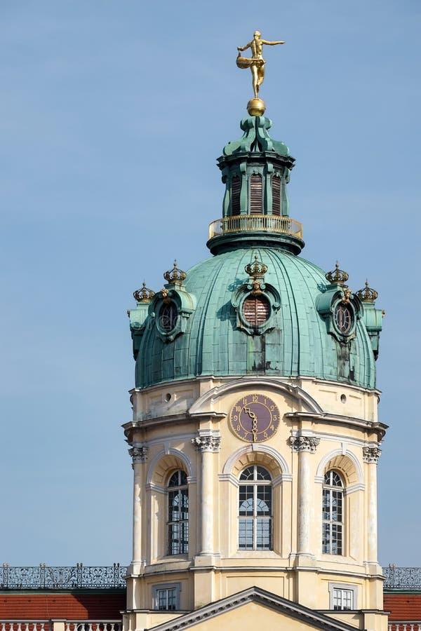 BERLIN, GERMANY/EUROPE - WRZESIEŃ 15: Charlottenburg pałac wewnątrz obraz stock