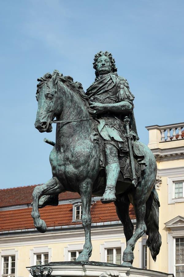 BERLIN, GERMANY/EUROPE - WRZESIEŃ 15: Statua Frederic G zdjęcia stock