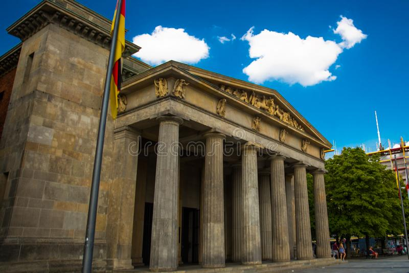 Berlin, Germany: Hedwig`s Cathedral in Germany`s capital. Berlin, Europe stock photography