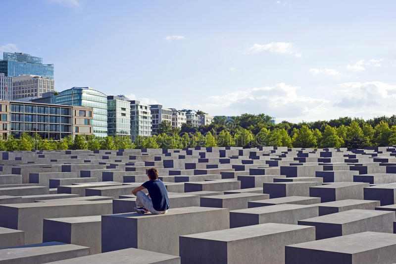 berlin Germany holokausta pomnik obraz stock