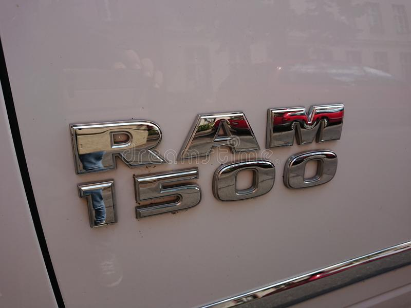 RAM 1500 Truck stock image