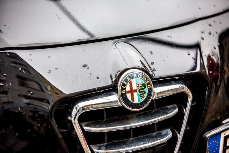 Alfa Romeo Car Emblem Editorial Photography Image Of Dealership