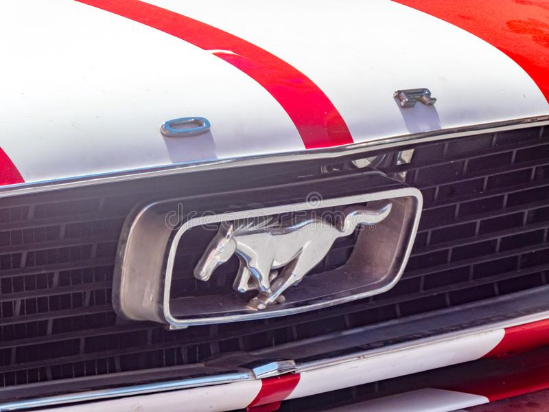 Ford Mustang car stock photos
