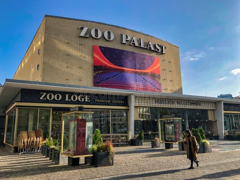 Zoo Palast royalty free stock image