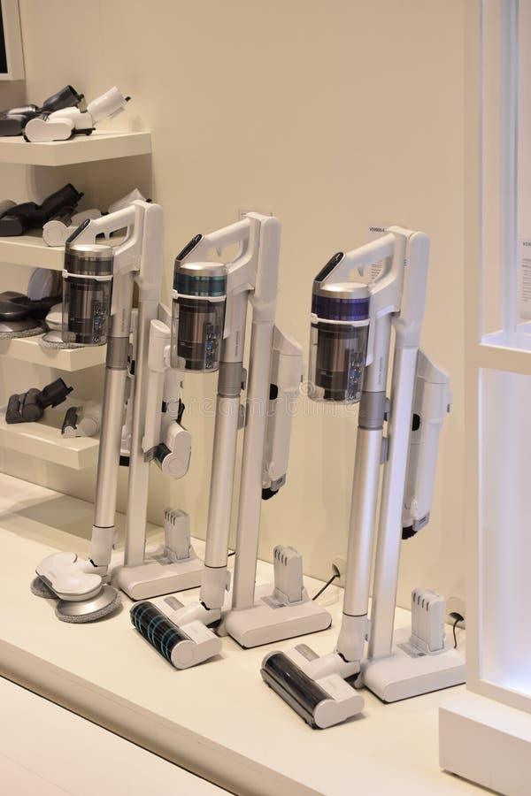 Samsung Powerstick Jet vacuum cleaners stock image