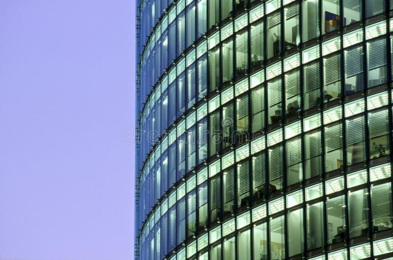 berlin germany skyskrapor arkivfoto