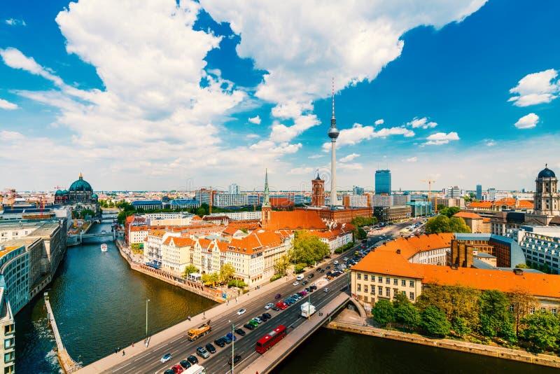 Berlin, Germany, during summer. Berlin architecture, Germany, during summer royalty free stock photos