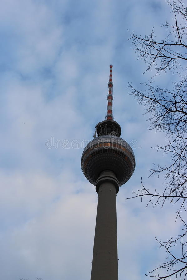 Berlin, Germany. A tower in Berlin, Germany royalty free stock photography