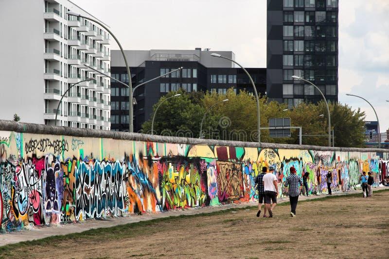 berlin germany vägg arkivfoton
