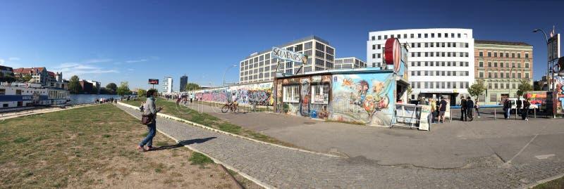 Berlin Germany Wall Historic photo libre de droits
