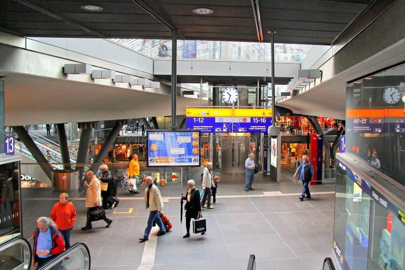 berlin hauptbahnhof zdjęcie stock