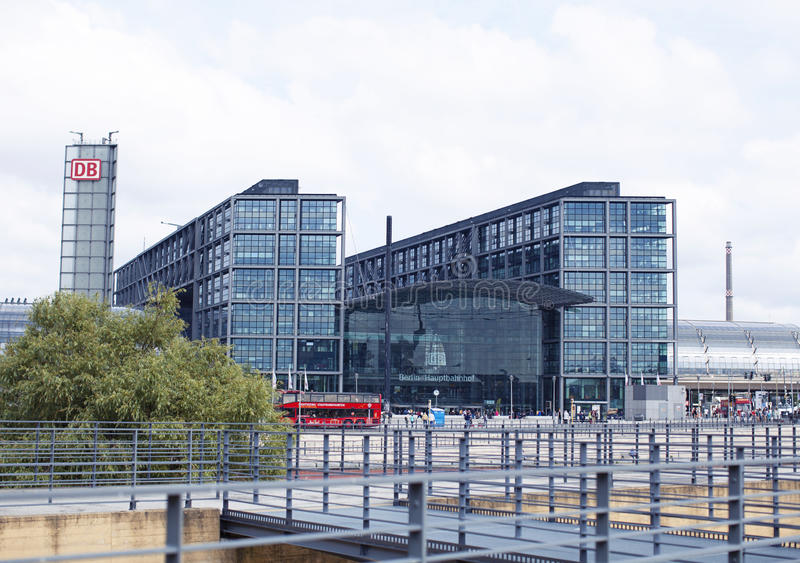 berlin hauptbahnhof zdjęcie royalty free